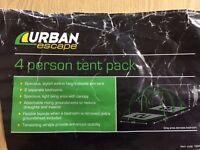 Urban Escape 4 Man Tent