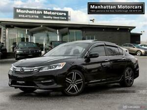 2016 HONDA ACCORD SPORT 4 CYLINER |SUNROOF|ALLOYS|CARPLAY|WARR