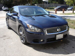2013 Nissan Maxima with Sport Package & Factory Navigation