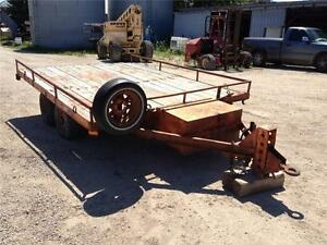 1993 J&J 12 Foot Utility Trailer
