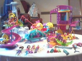 large set/s of polly pocket