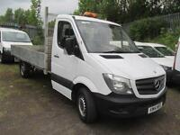 Mercedes-Benz Sprinter 313 CDi LWB Dropside DIESEL MANUAL WHITE (2014)