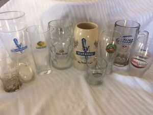 Beer Steins & Glasses- ONLY $50.00 for all!