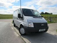 FORD TRANSIT 2012 12 FORD TRANSIT Low Roof Van TDCi 100ps Clutc (silver) 2012