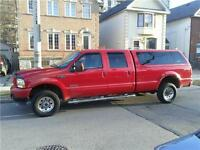 2003 Ford F350 SUPER CREW 4X4 TURBO DIESEL 8FT BOX BEAUTY $9850