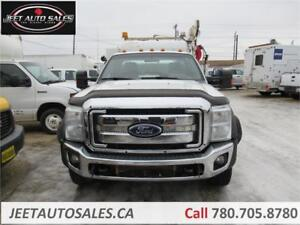 2012 Ford Super Duty F-550 DRW XLT Service Truck with 5005 Crane