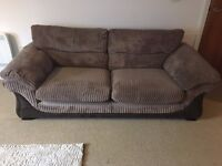 Brown 2 Seater Sofa for Sale
