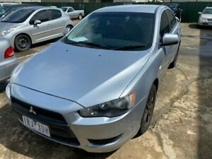 2008 Mitsubishi Lancer CJ MY09 ES Silver 6 Speed CVT Auto Sequential Sedan Hoppers Crossing Wyndham Area Preview