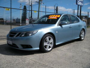 2009 Saab 9-3 MY08 Vector 1.9TiD Blue 5 Speed Automatic Sedan Wangara Wanneroo Area Preview