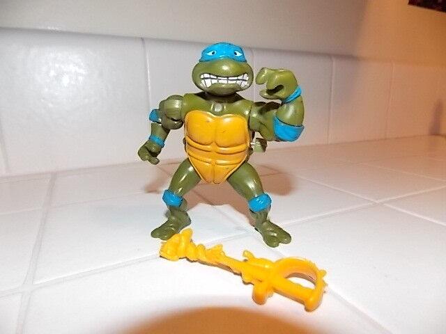 Teenage Mutant Ninja Turtles Figure Tmnt 1990 Leonardo Leo Sword