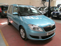 61 SKODA ROOMSTER WHEELCHAIR ADAPTED DISABLED