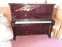 Ebony piano for sale very good condition .will need tuning. Sadly have to sell