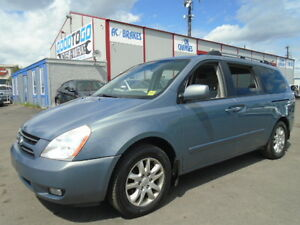 2007 Kia Sedona EX SPORT PKG-WITH DVD-HDTV-POWER SLIDING DOORS