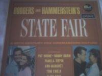 Vinyl LP State Fair – Pat Boone & Bobby Dain London HAD 2453 1962 Dot Recording