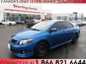 2010 Toyota Corolla S | 1 OWNER | TINT | WINTER WHEELS