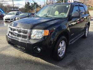2008 Ford Escape XLT NEW MVI,4X4, 2 YEAR WARRANTY, GOOD IN SNOW