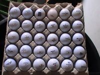 25 MIXED BRANDS OF GOLF BALLS 18P EACH