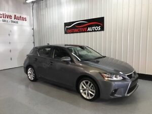 2016 Lexus CT 200h HYBRID LEATHER/NAVIGATION/B.CAM/LIKE NEW