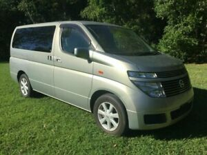 2003 Nissan Elgrand E51 Highway Star Gold 5 Speed Automatic Wagon Underwood Logan Area Preview