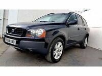2004   Volvo XC90 2.4 TD D5 SE   Diesel   Automatic   1 Former Keeper   1 Year MOT   HPI Clear  