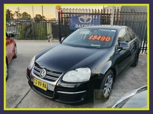 2008 Volkswagen Jetta 1KM MY08 TDI Black Sports Automatic Dual Clutch Sedan Lansvale Liverpool Area Preview