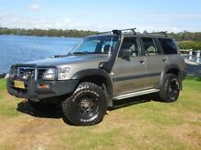 2001 Nissan Patrol GU II ST (4x4) Gold Automatic Wagon Lansvale Liverpool Area Preview
