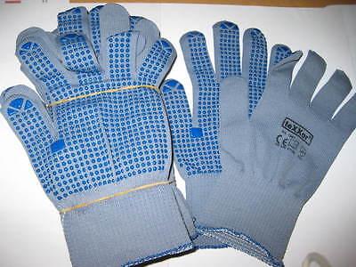 12 Paar Arbeits-Handschuhe, Strickhandschuh Gr.XL  Texxor Fingerhandschuh  NEU