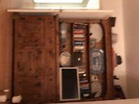 Cottage style pine kitchen dresser