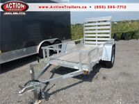 *USED 2016 4X8 ALUMINUM UTILITY TRAILER - THIS WONT LAST LONG!* London Ontario Preview