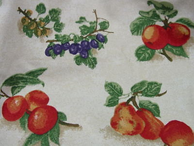 Blueberry Small Fruit (Longaberger FRUIT MEDLEY Fabric Liner for BLUEBERRY, Small BERRY, WINTER Basket)