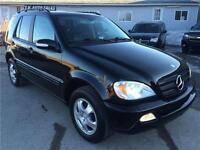 2003 MERCEDES ML320 AWD NAV SUV LEATHER SUNROOF SAFETY&E-TESTED