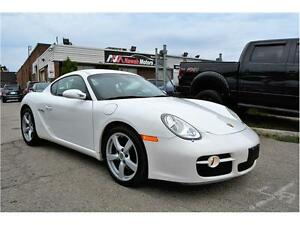 2007 PORSCHE CAYMAN COUPE MANUAL | 1 OWNER  | RECENT TRADE