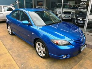 2004 Mazda 3 BK SP23 Blue 5 Speed Manual Sedan Hobart CBD Hobart City Preview
