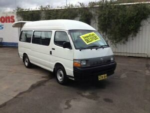1997 Toyota HiAce RZH125 Commuter White 5 Speed Manual Bus