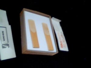 REEDS FOR SAX & CLEANING KIT