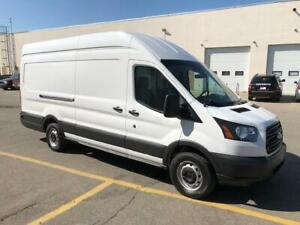 2018 Ford Transit T250 HIGHROOF LONG W/BASE EXT. $4K UPFITTED