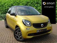 smart forfour PRIME PREMIUM (yellow) 2017-03-21