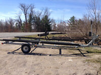 Pontoon Trailer For Rent
