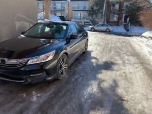 Black Honda Accord EX touring Edition