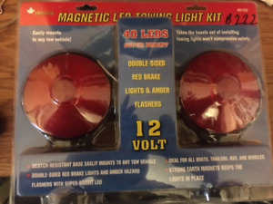 MAGNETIC LED TOWING LIGHT KIT- BRAND NEW IN PKG