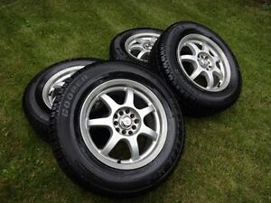 Cooper Discoverer M&S, Wintter Studded tires w Alloy rims