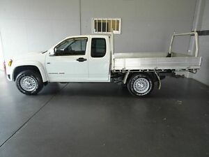 2010 Holden Colorado RC MY10 LX (4x4) White 5 Speed Manual Spacecab Woodridge Logan Area Preview