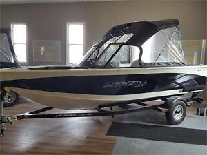 Brand new!!! 18 xcalibur Legend with new 50 4 stroke