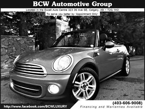 2013 MINI Cooper Convertible SOLD! Certified $22,995.00