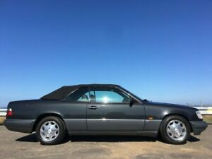 1995 Mercedes-Benz E220 CA Blue & Black Metallic 4 Speed Automatic Cabriolet Norlane Geelong City Preview