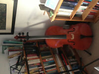 4/4 Student Stentor Cello For Sale