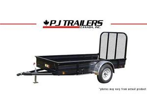 "PJ 2015 - 10' x 60"" All-Steel Utility Trailer - U8"