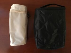 Insulated Baby Bottle Holders - 1 Single, 1 Double