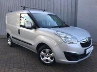 Vauxhall Combo 1.6 CDTI 105 Sportive 2000 Van, 5 Doors in Silver, Very Very Low Miles, Why Buy New??
