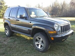 2007 Jeep Liberty CRD Limited SUV, Crossover